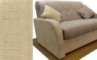 Как ухаживать за мебелью из рогожки