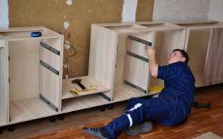 Как собрать мебель богемия