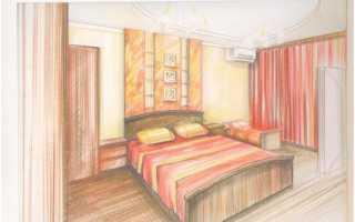 Как нарисовать мебель от руки