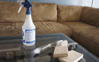 Чем почистить мягкую мебель от засаленности