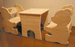 Как сделать детскую мебель своими руками