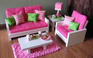 Как сделать мебель для кукол своими руками мир мечты