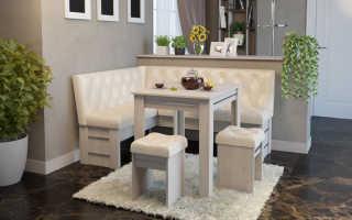 Табурет с мягким сидением как род мягкой мебели